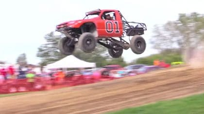 Long Jumping Trucks Is Your New Favorite Redneck Activity