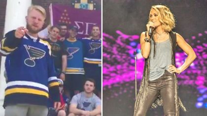 Missouri Fraternity Challenges Carrie Underwood To High Stakes Hockey Bet
