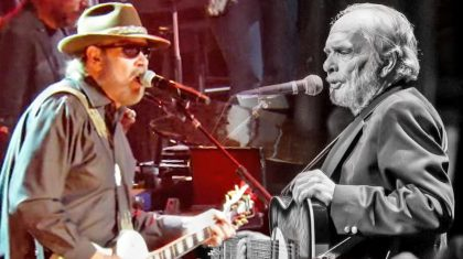 Hank Jr. Makes Merle Haggard Proud With Fiery 'I Think I'll Just Stay Here & Drink' Performance