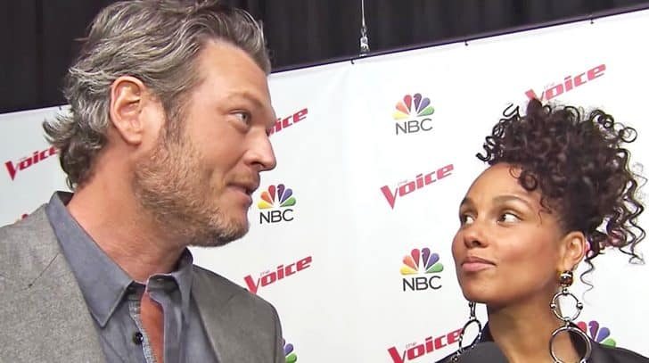 'Voice' Coach Alicia Keys Exposes Blake Shelton's Jealous Side | Country Music Nation
