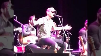 Country Singer Interrupts Performance To Announce His Sudden Engagement