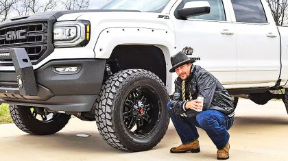 Take A Look At Kid Rock's Insanely Detailed Custom Pickup Truck
