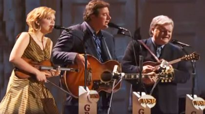 Vince Gill & Country Legends Leave Opry In Tears With Angelic 'Go Rest High'