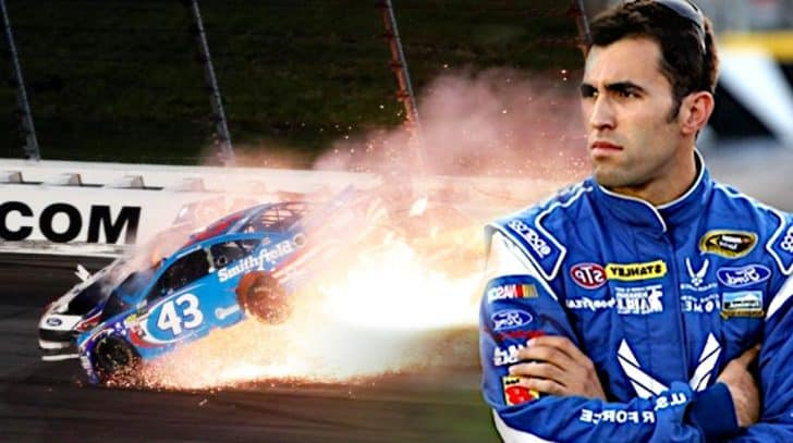 NASCAR Finally Reveals Aric Almirola's Future After Spinal Injury | Country Music Nation
