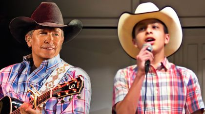 "Little Cowboy Will Make Your Heart Soar With Impressive ""I Cross My Heart"" Tribute"
