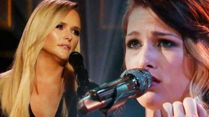 "Blake's 'Voice' Winner Unleashes Emotional Cover Of Miranda Lambert's ""Over You"""