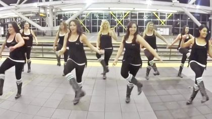 Boot Boogie Babes Go On The 'Move' In Spunky Luke Bryan Line Dance