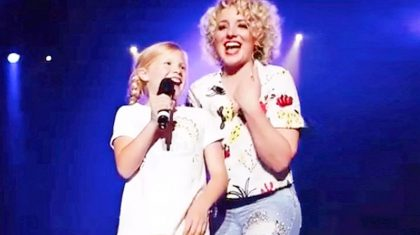 Little Girl Crashes Country Singer's Concert With Adorable Performance