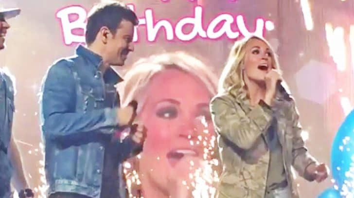 Carrie Underwood Crashes Her Favorite Artist's Concert In The Best Way Possible | Country Music Nation