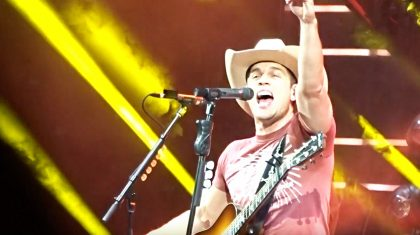 Dustin Lynch Ignites Concert With Killer Medley Of 'Friends In Low Places' & 'Pour Some Sugar On Me'