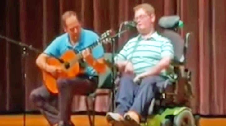 Inspiring 16-Year-Old Stuns School Talent Show With Randy Travis' 'I Told You So' | Country Music Nation