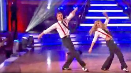 Julianne & Derek Hough's Epic Jive Will Blow Your Mind