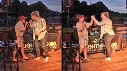 Kelly Clarkson Joins Talented Fifth Grader For Epic Karaoke Duet