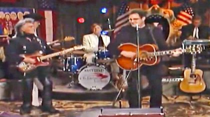 Vince Gill & Marty Stuart Make The Perfect Team In This Pure Country Performance