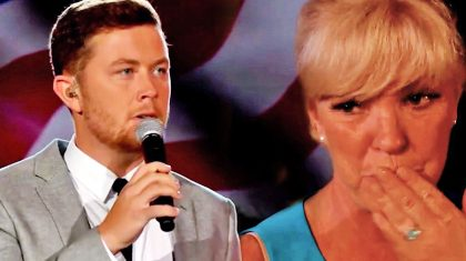 Scotty McCreery Moves Crowd To Tears With Touching Memorial Day Tribute