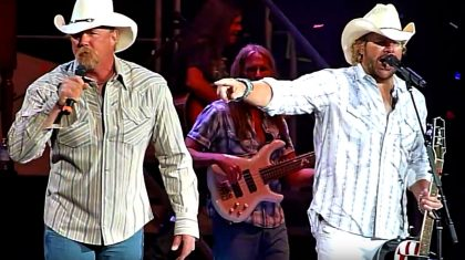 Trace Adkins Ignites Toby Keith Concert With Surprise 'Courtesy of the Red, White, & Blue' Duet