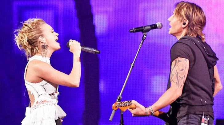 Keith urban carrie underwood s cmt music awards duet on for Carrie underwood and keith urban duet
