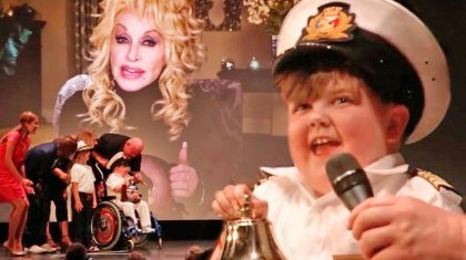 Remarkable 8-Year-Old Surprised With Dolly Parton Duet