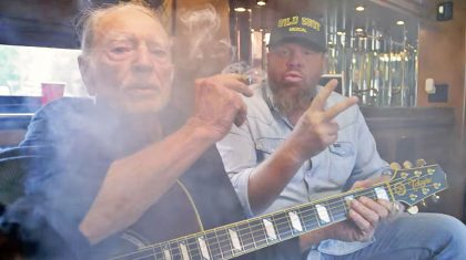 Willie Nelson Stars In Toby Keith's Blazing New Video For 'Wacky Tobaccy'