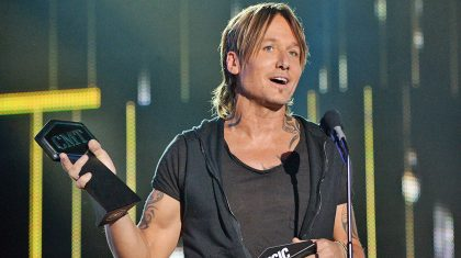 Keith Urban Gives Heartfelt Tribute To Nicole Kidman During CMT Awards Acceptance Speech