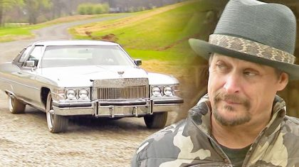 Feast Your Eyes On Kid Rock's Snazzy Cadillac Inspired By Waylon Jennings