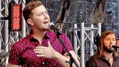 For First Time Ever, Scotty McCreery Sings 'Five More Minutes' On Live TV
