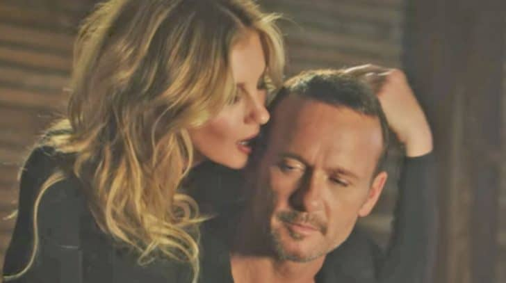 "Tim McGraw & Faith Hill Debut Steamy Music Video For ""Speak To A Girl"" 