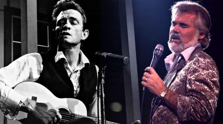 """Hear Johnny Cash's Rare Recording Of """"The Gambler"""" Before Kenny Rogers Stole The Show 