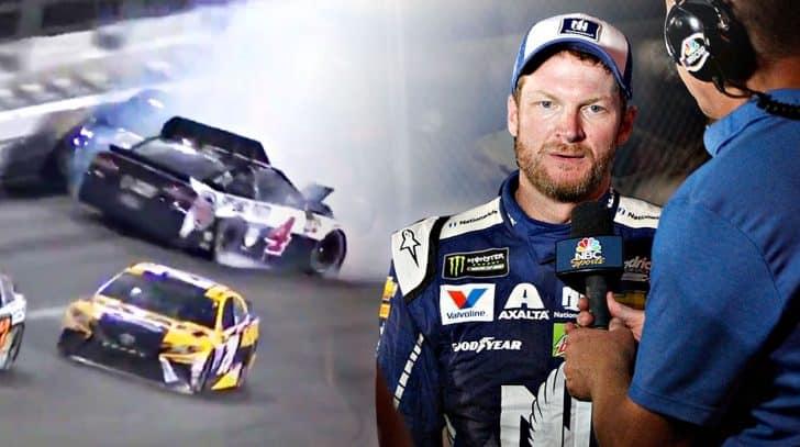Dale Jr.'s Daytona Dreams End In Brutal Crash | Country Music Nation