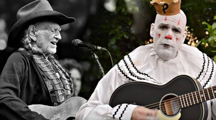 Depressed Viral Clown Gives Remarkable Cover Of Willie Nelson Classic | Country Music Nation