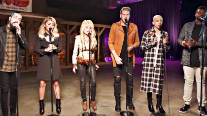 """Relive Dolly Parton's Iconic """"Jolene"""" Remake With Pentatonix"""