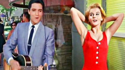 """Watch Sparks Fly Between Elvis Presley & Ann-Margret In Sultry """"Lady Loves Me"""" Duet"""