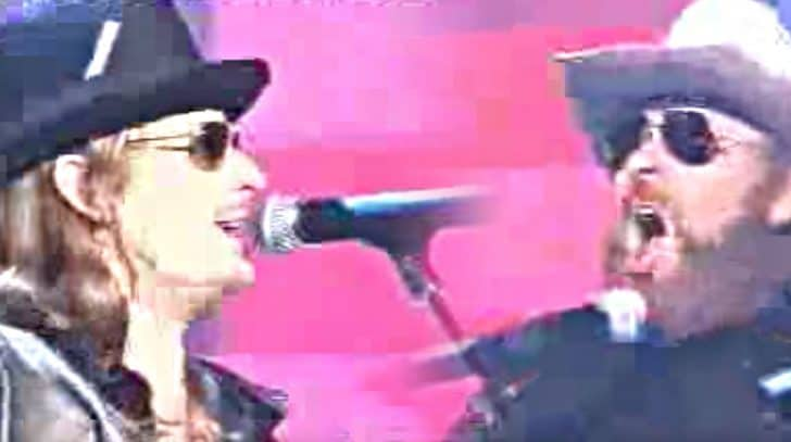"""Kid Rock & Hank Jr. Team Up For Rowdy """"Midnight Rider"""" & """"Cowboy"""" Duet 