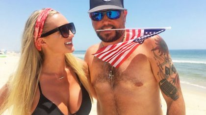 Jason Aldean's Wife Brittany Shows Off Baby Bump In Hysterical Selfie