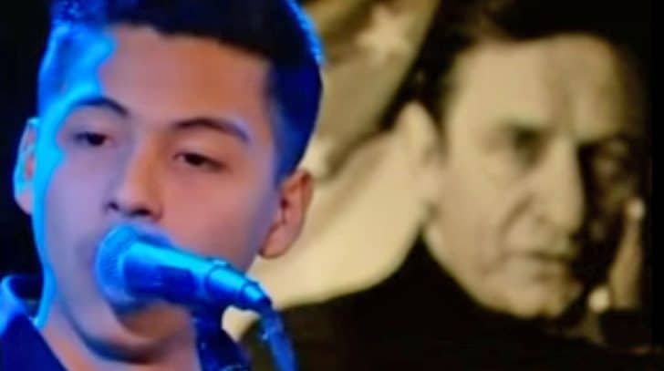 15-Year-Old Sounds Practically Identical To Johnny Cash In Fiery 'Ring Of Fire' Performance | Country Music Nation