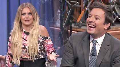 Country Singer Has Jimmy Fallon Crackin' Up With Awkward Antics