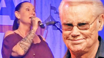Georgette Jones Gracefully Sings 'Choices' In Tribute To Her Legendary Father