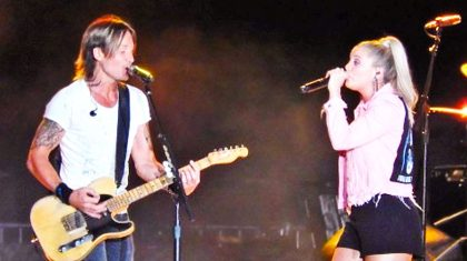 Keith Urban Enlists Lauren Alaina To Fill Miranda Lambert's Shoes In Fierce Duet