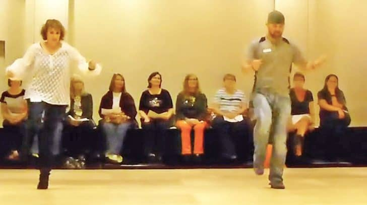 Country Folks Sport Some Fancy Footwork In Fiery Line Dance To Trace Adkins' 'Lit' | Country Music Nation