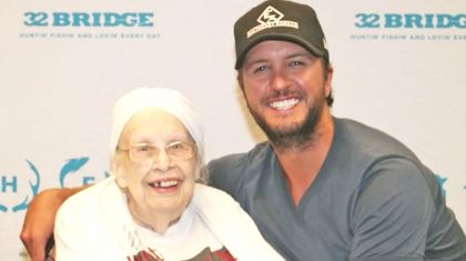 Luke Bryan Grants Special Wish For 88-Year-Old Fan With Terminal Illness