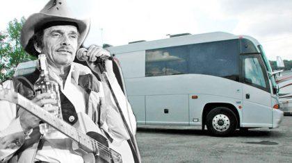 Merle Haggard's Tour Bus Is On Sale For Mind-Boggling Price