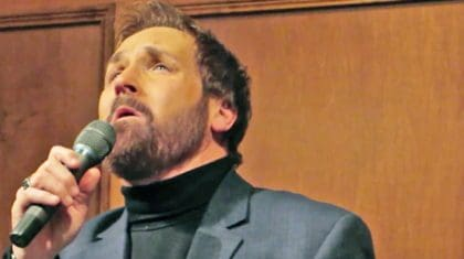 Award-Winning Christian Singer Performs Heartbreaking 'Go Rest High' At Father's Funeral