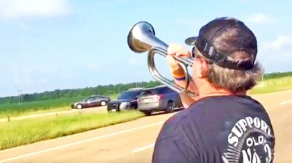 Man's 'Taps' Tribute To Military Members Killed In Plane Crash Will Make You Tear Up