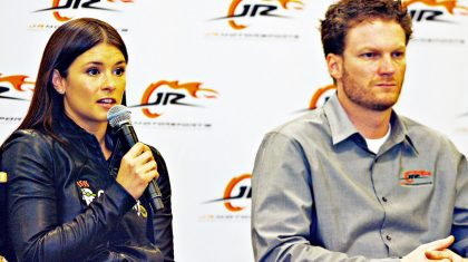 Danica Patrick Defends Dale Jr. Against 'Fan Stealing' Accusations