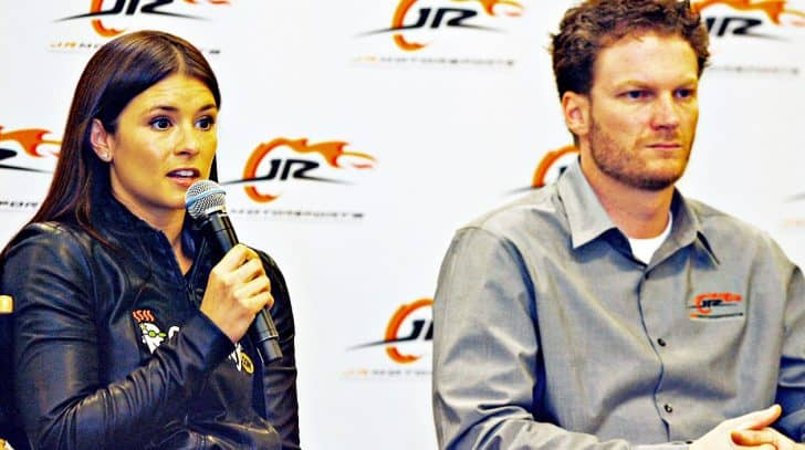 Danica Patrick Defends Dale Jr. Against 'Fan Stealing' Accusations | Country Music Nation