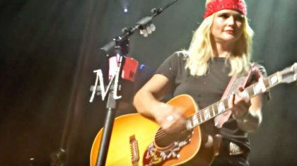 Miranda Lambert Stops Mid-Song After Forgetting Her Lyrics