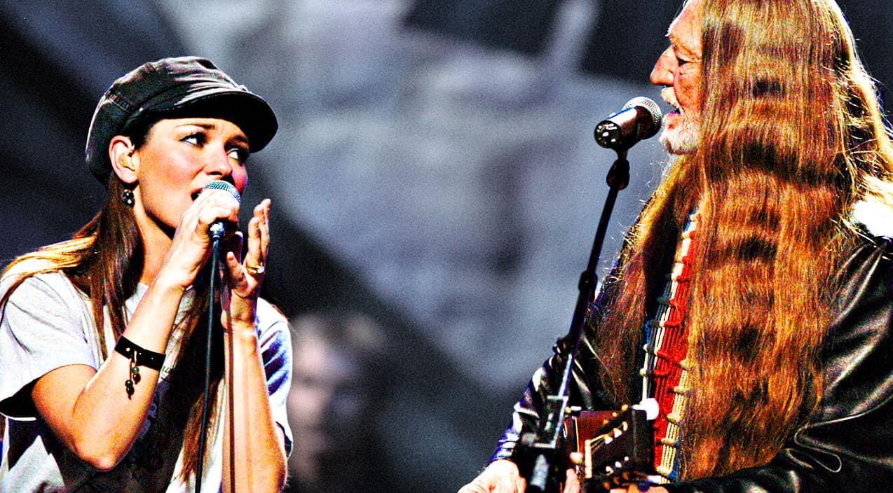 Shania Twain Amp Willie Nelson Find Perfect Harmony In Sweet
