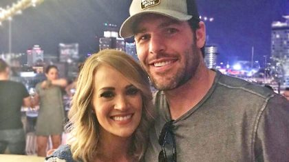 Carrie Underwood Shares Adorable Glimpse Into How Mike Fisher Is Spending Retirement