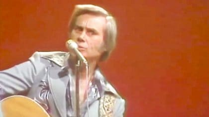 Brace Yourself For George Jones' Wild Performance Of One Of His Biggest Hits