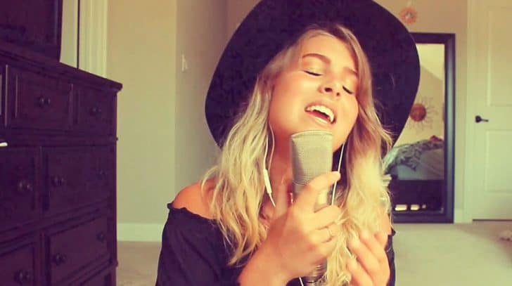 Young Woman Issues Intoxicating Cover Of Dolly Parton's Iconic Hit 'Jolene' | Country Music Nation
